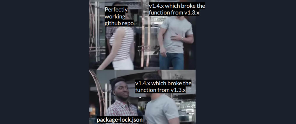 Cover image for But what the hell is package-lock.json?