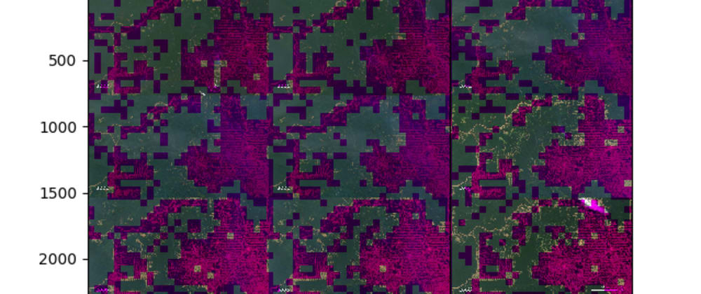 Cover image for That time I used a simple machine learning algorithm to classify deforested areas.