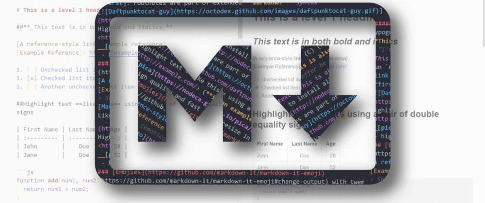 Cover image for How To Write Better  & Cleaner Markdown: The Definitive Guide