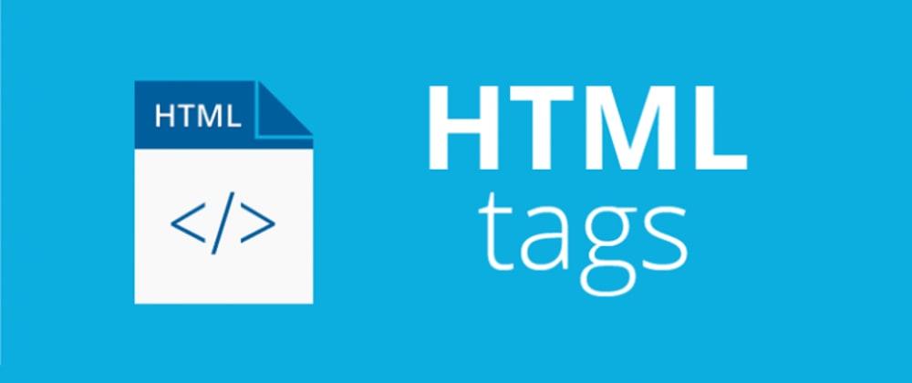 Cover image for HTML tags | em-i
