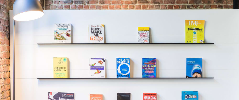 Cover image for Startup Books for Developers