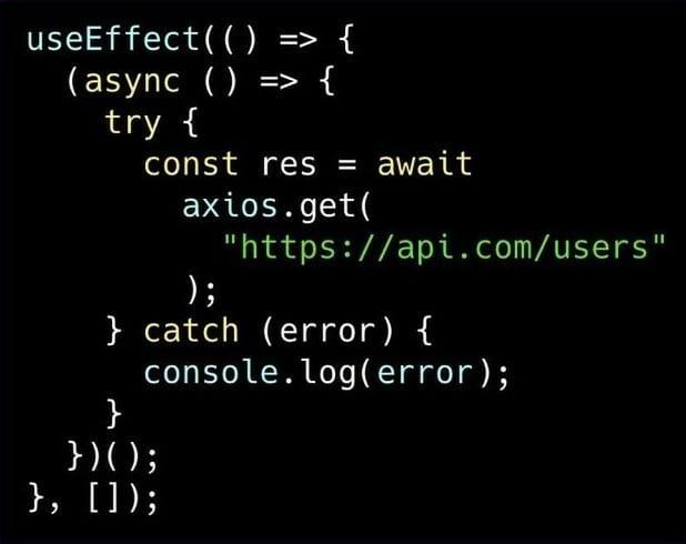 Fetch data async