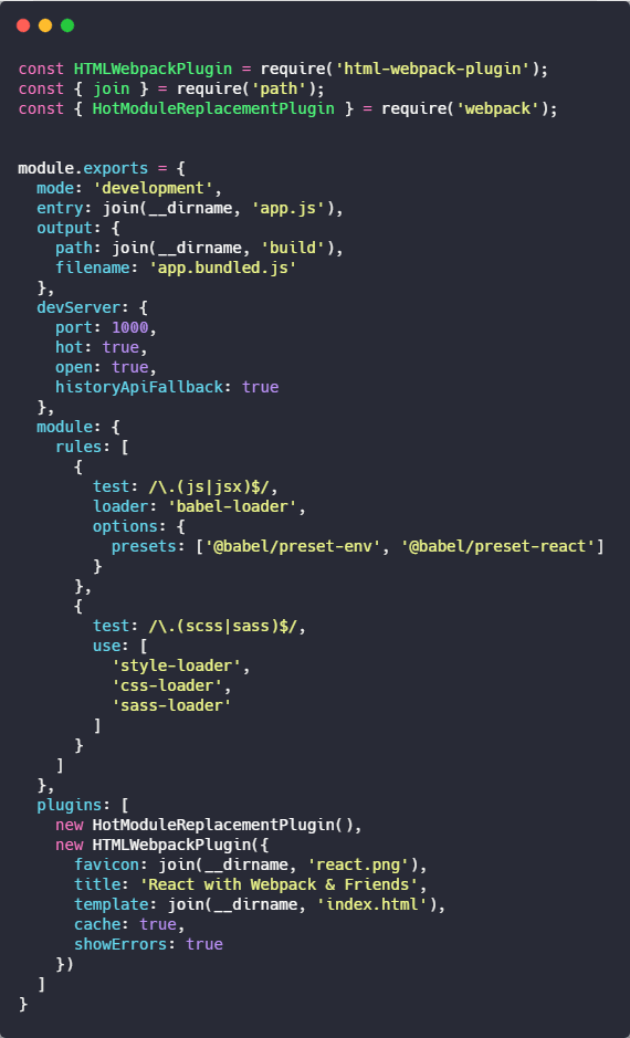 CANNOT FIND MODULE '@BABEL - How to configure React with