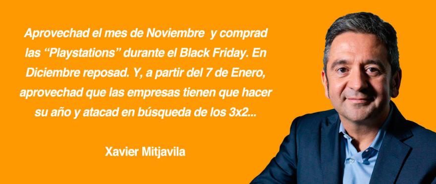 Xavier Mitjavila sobre la cuesta de Enero