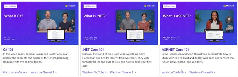 So Many Ways to Learn .NET in 2020