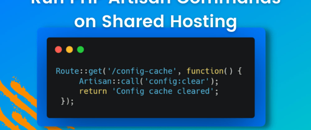 Cover image for Easy Ways to Run PHP Artisan Commands on Shared Hosting