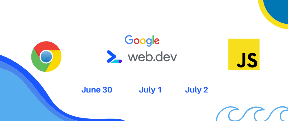 Cover image for web.dev live conference from Google