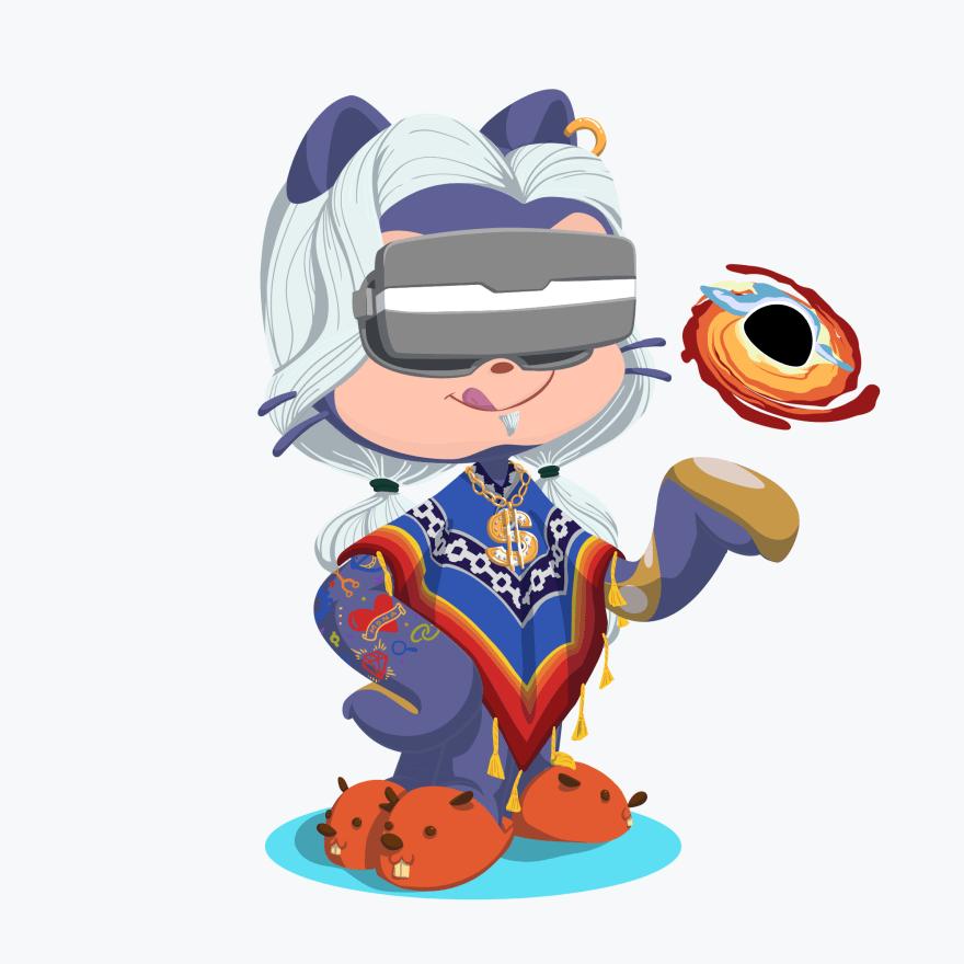 vr wizzard octocat