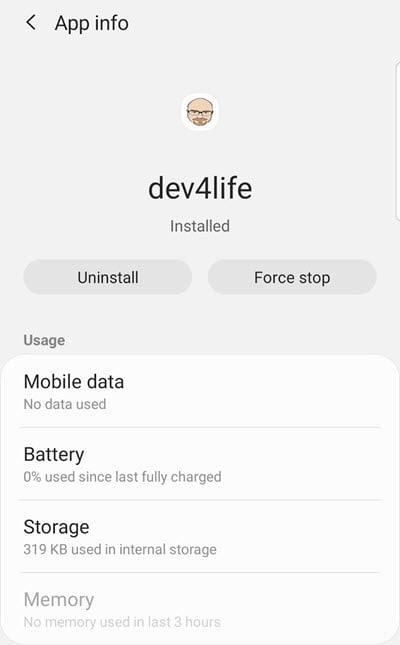 Developer for Life App