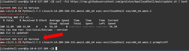 CloudShellAccessUpdate