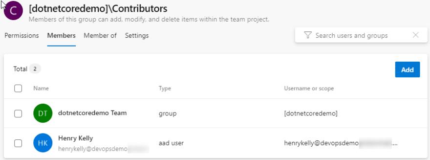 Contributor members