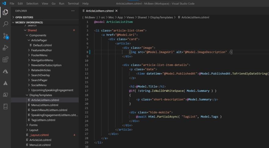 Kentico Xperience 13 .Net Core Code Example