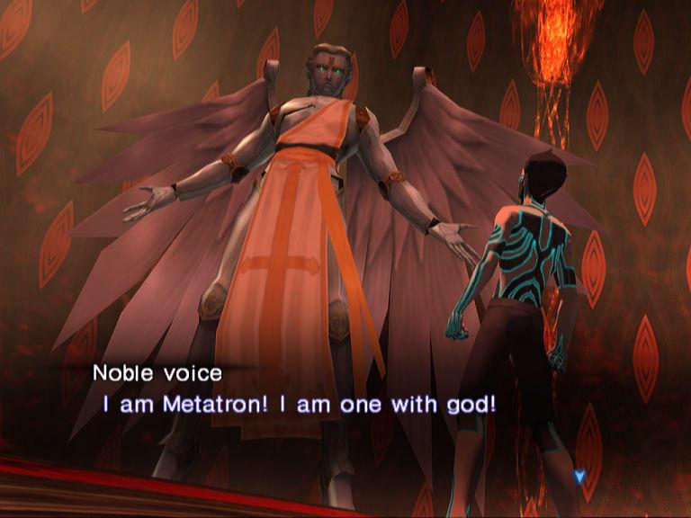 **SMT Nocturne de 2003 lançado para o Playstation 2**