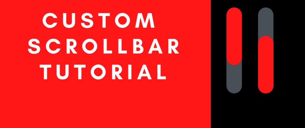 Cover image for Create a custom scrollbar with CSS - Easy CSS Scrollbar Tutorial