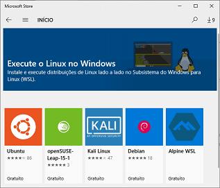 Alt Distribuições Linux Disponíveis