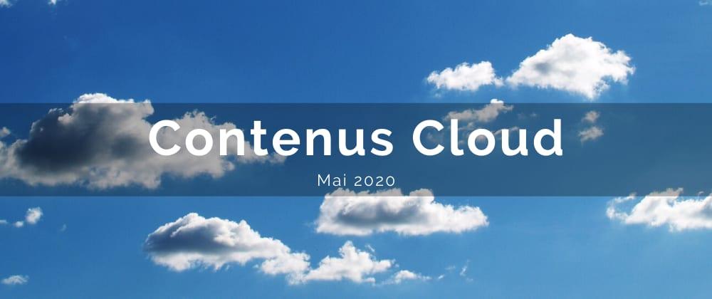 Cover image for Contenus Cloud - mai/juin 2020