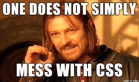CSS you say?