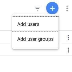 Google Analytics Add Users Option