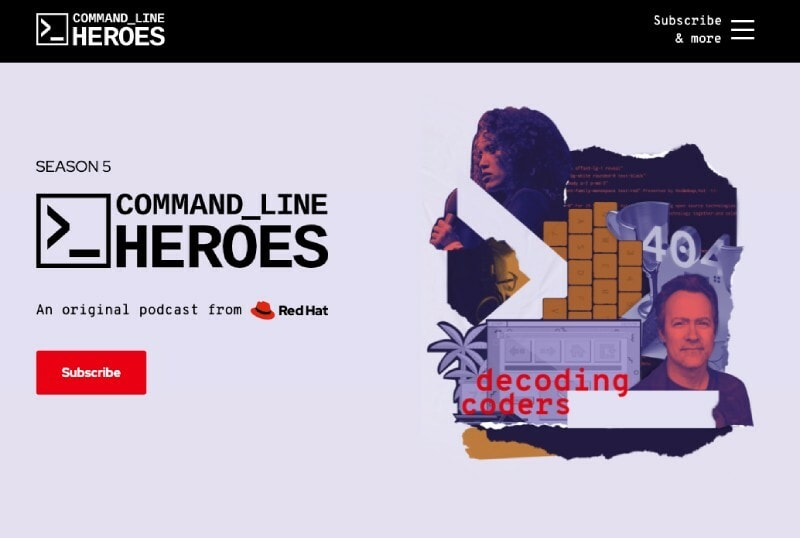Software engineering podcast - Command line heroes