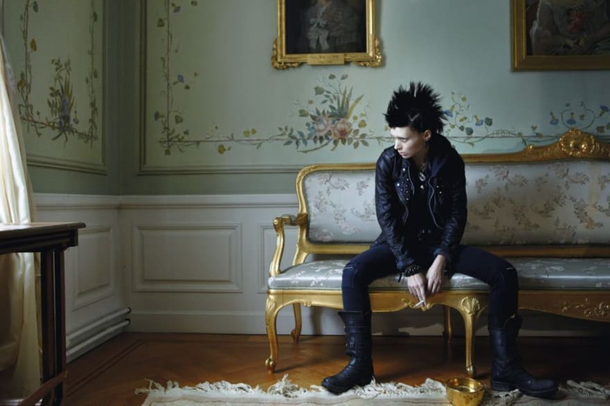 The Girl With The Dragon Tattoo still