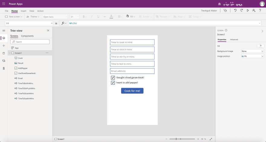 Power Apps: Canvas