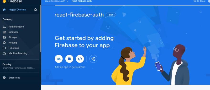 Firebase add app