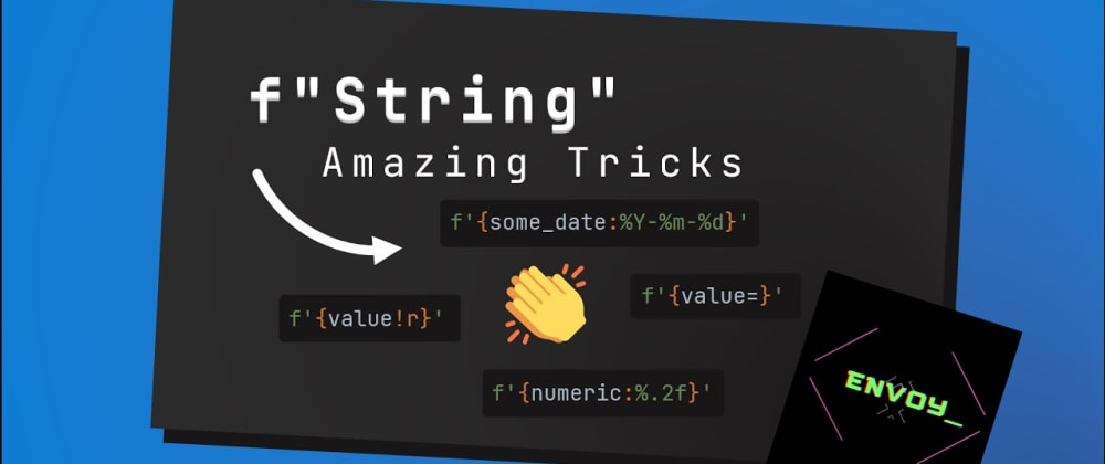 Cover image for Python f-strings can do more than you thought