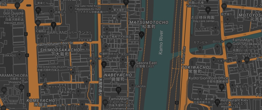 Cover image for Day 5: Switching embedded Google Maps into custom dark mode after 6pm