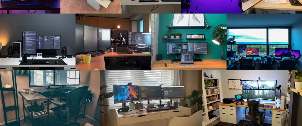 Cover image for 15 Awesome Developer Home Workstations