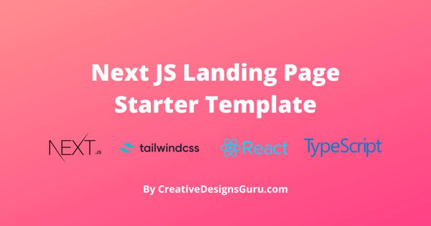 Next js starter banner