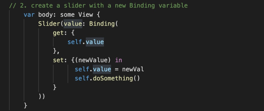 How to call a function when a slider changes in SwiftUI