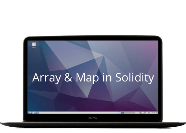 alt array and map in solidity