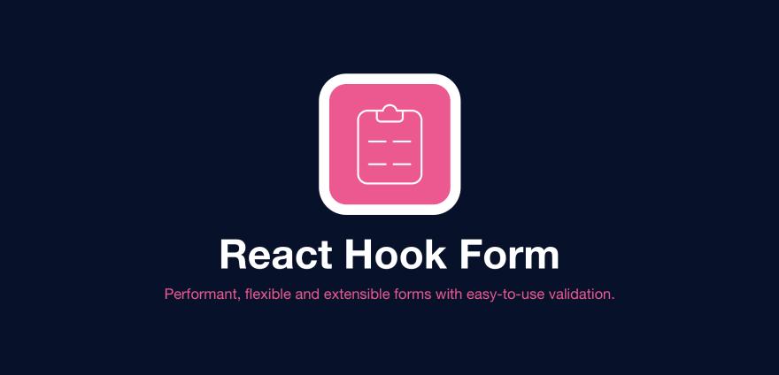 React Hook Form Logo - React hook custom hook for form validation