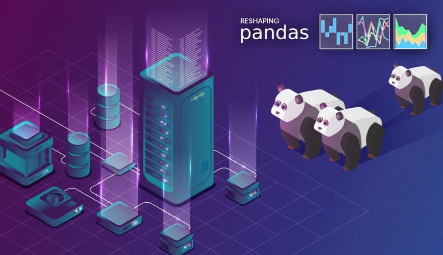 Reshaping Pandas DataFrames