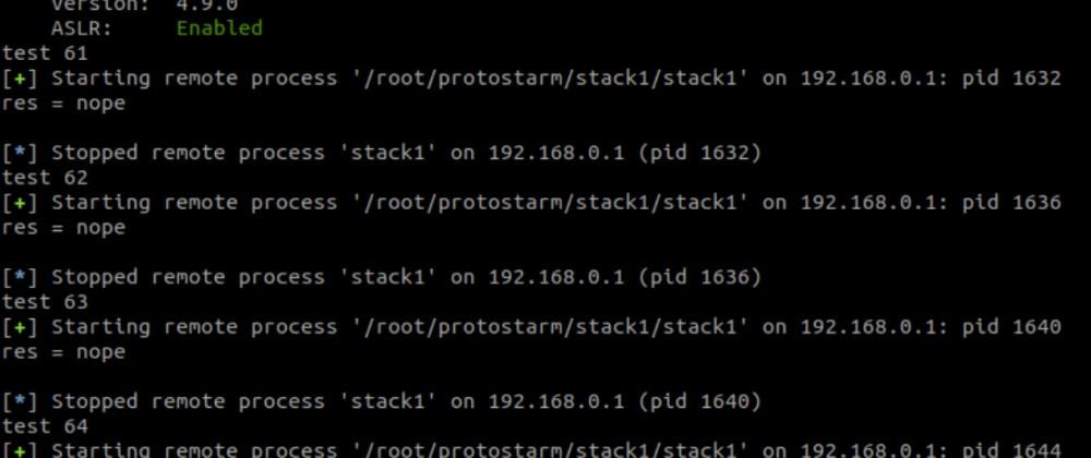 Cover image for ARM BOF, überwrite stack data