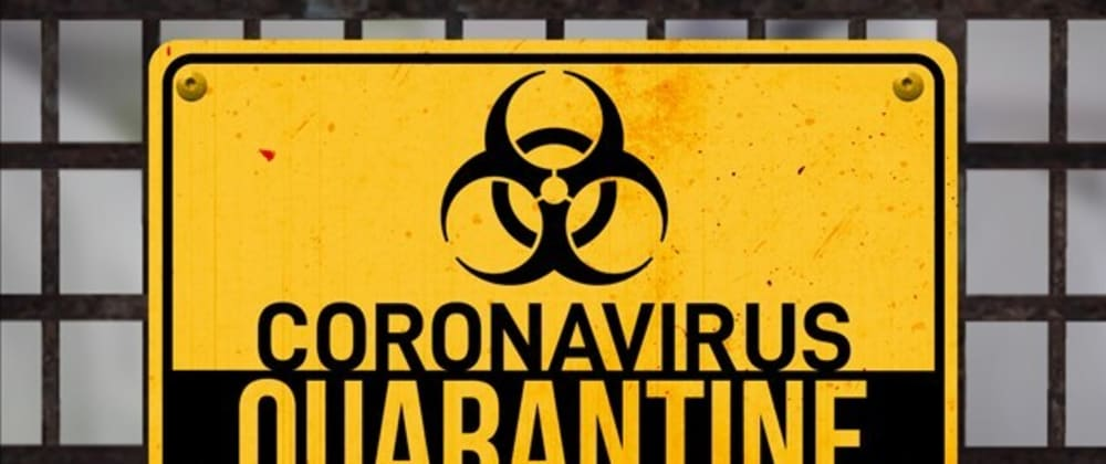 Cover image for Don't suffer quarantine, be better because of it.