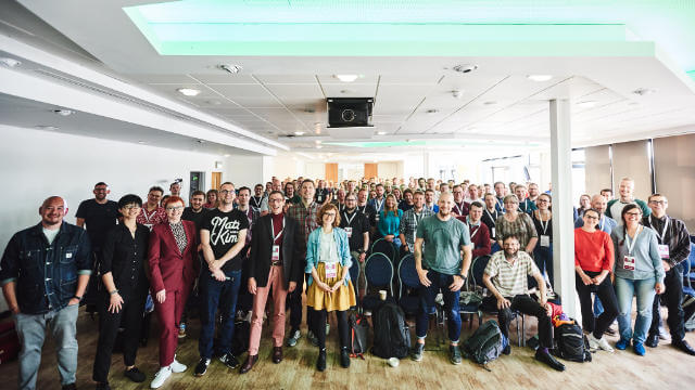 Family photo after Pixel Pioneers 2019