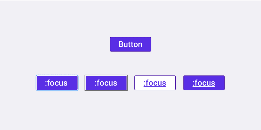 Designing button focus states for better usability - DEV Community