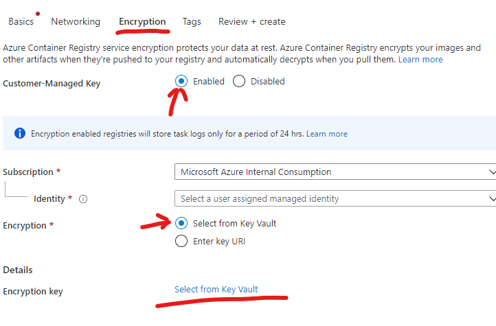 ACR Creation
