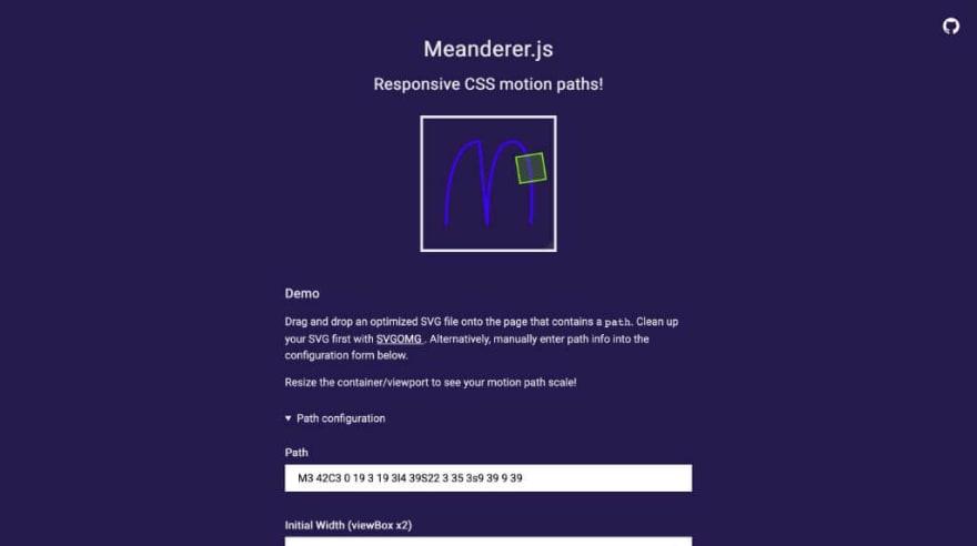 Meanderer.js