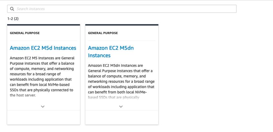 AWS Made Easy   AWS EC2   Instance Explorer Results