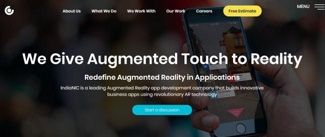 Indianic-#1 Augmented Reality App Development Company