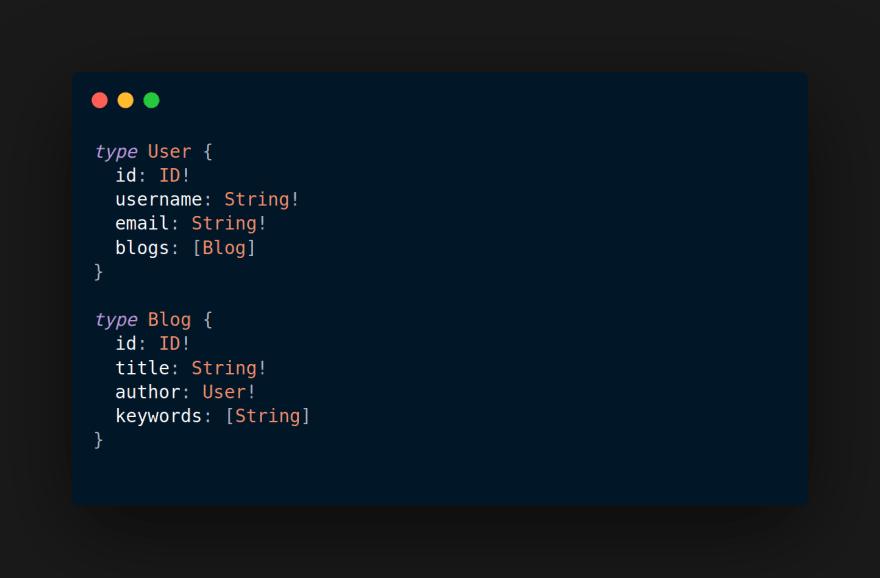 GraphQL object types