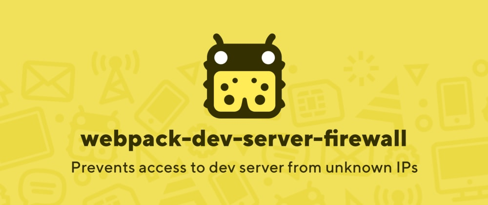 Cover image for Protect your dev server