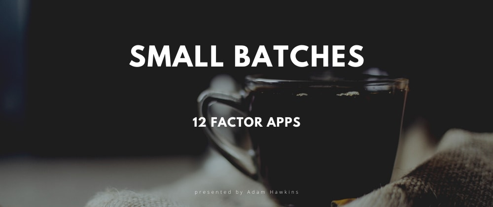 Cover image for 12 Factor Apps