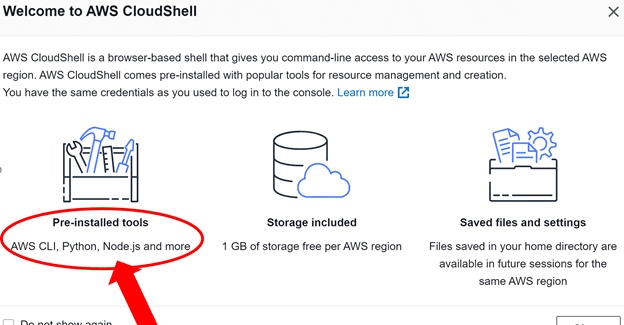 CloudShellAccess2