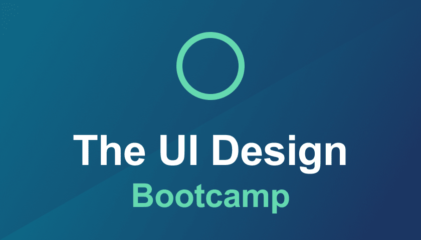 Course cover for the UI Design Bootcamp