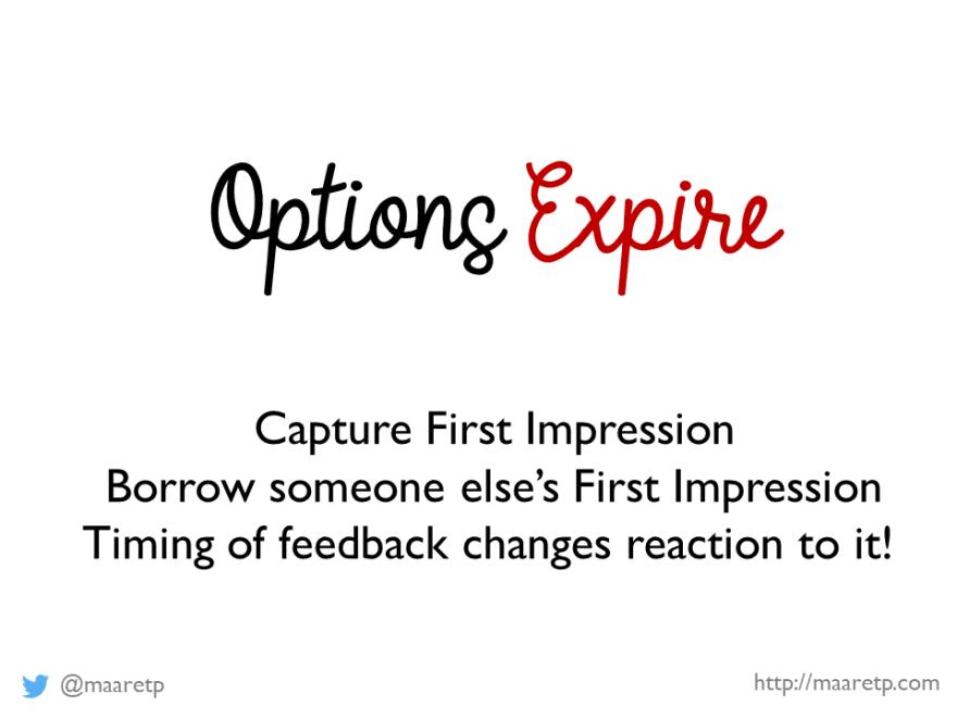 Options Expire