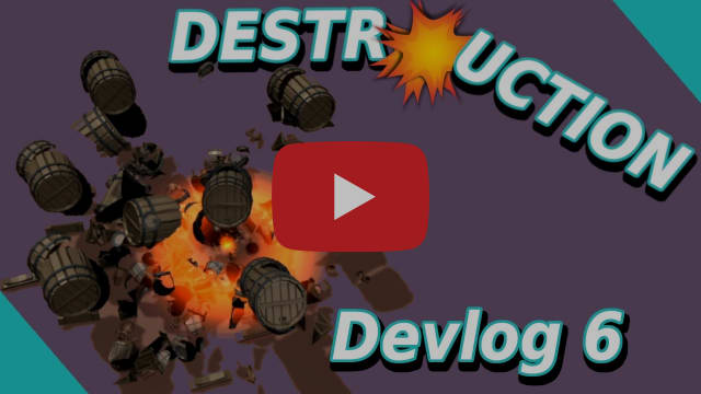 RPG Devlog part 6 - DESTRUCTION - Explode Barrels & More - Will Unity break? | Make a RPG in Unity |