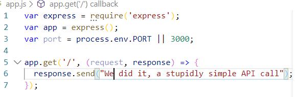 Express API call to send text